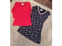 Ladies Boux Avenue top & M&S nightie bundle. Size 16. £5
