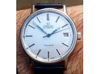 Rare Vintage Gents Omega Genève Automatic Watch 1974. Fully Serviced September '16