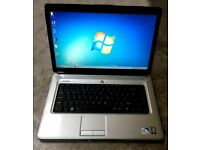 "Laptop Dell Inspiron 1545 15.6"" Intel Dual Core white"