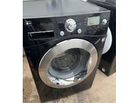 LG Direct Drive 8kg Washing Machine black