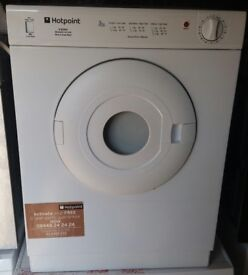 3kg hotpoint vented dryer