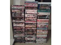 Bundle of dvds, blu-rays, boxsets
