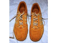 Rare Adidas Prototype/Test Trainers, Size 8.5. Adidas Unknown Mark 1.