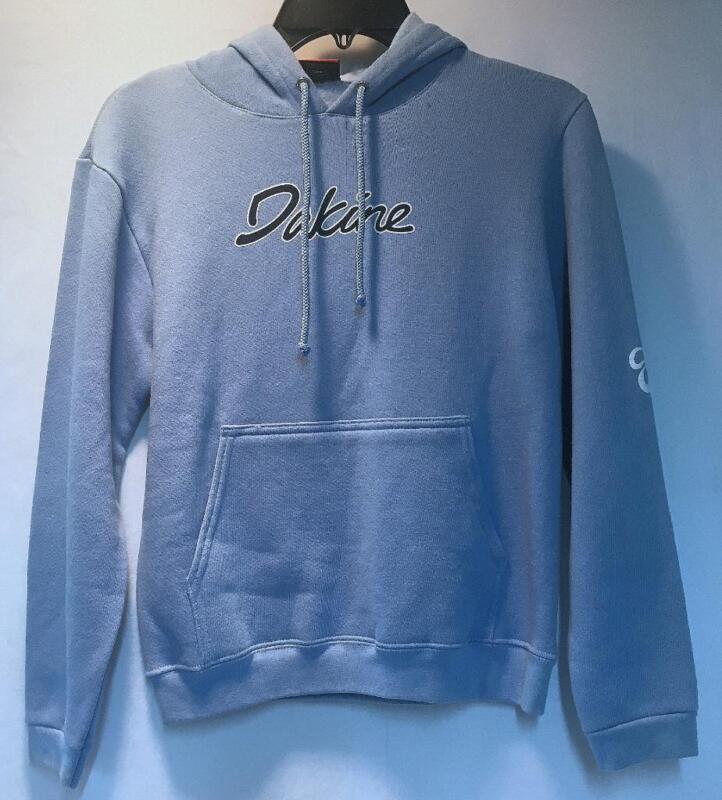 Dakine Women's Classic Graphic Logo Sweatshirt Sky Blue Size Small NEW