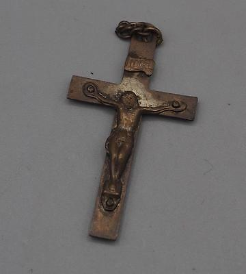 Vintage Religious Crucifix Pendant mv