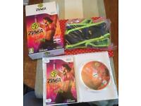 Wii ZUMBA fitness game including Zumba Fitness Belt - Unused
