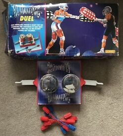 GLADIATORS - DUEL (HORNBY) (Good Condition & With Original Box) 1992