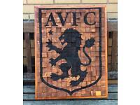 Aston Villa FC, 3D wooden logo
