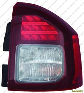 Tail Lamp Passenger Side Led High Quality Jeep Compass 2014-2016