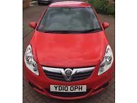 Vauxhall Corsa 1.2l low milage 2010 reg MOT until Fedb 2018 full service history