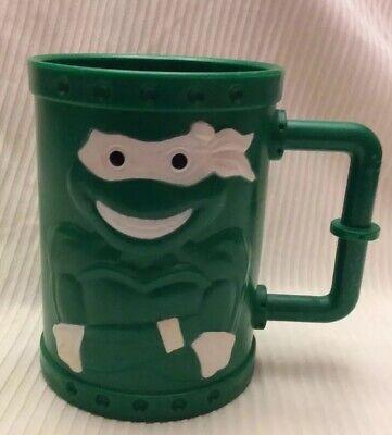 Vintage Teenage Mutant Ninja Turtles Cup Plastic City Sewer Mug 1991 - Teenage Mutant Ninja Turtles Cups