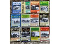 British railway illustrated 1997 magazines complete year