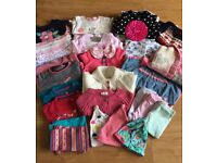 Bundle of Baby Girl Clothes 3-6 Months