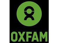 Oxfam Shop Volunteer Sales Assistant