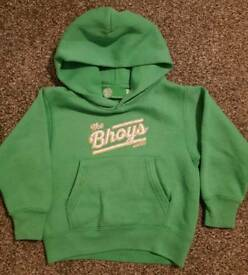 3-4 years official Celtic hoodie