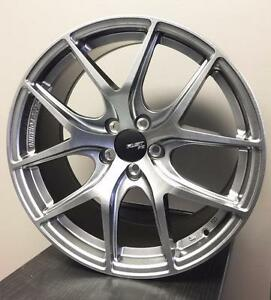 "18"" 5x100 Flow forming wheel + 225/40R18 Michelin pilot sport package promotion for Scion FRS Subaru BRZ AE86 IMPREZA"