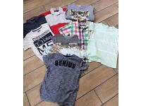 Boys clothing bundle age 8 Swansea NEXT Quiksilver Converse M&S tshirts shirts sweatshirt