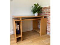 Excellent condition - John Lewis Oak Desk
