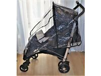 chicco liteway 2nd edition pushchair, pram, from newborn to toddler ,vgc