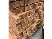 Wooden Posts £10