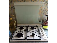 Clean working 4-burner Gas Hob