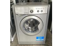 Indesit IWDC6125S Nice Washer & Dryer (Fully Working & 3 Month Warranty)