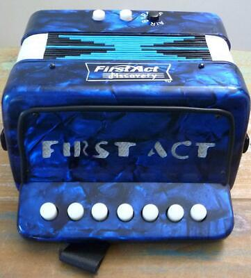 """""""First Act Discovery"""" Accordion Musical Instrument for Children Over 3 Yrs."""