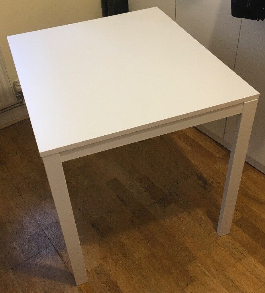 Ikea Extendable Table Vangsta White 80 120x70 Cm Transpa 2mm Protection