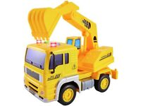 HERSITY Digger Toys Construction Truck Vehicle with Lights and Sounds Truck (NEW in Sealed Box)