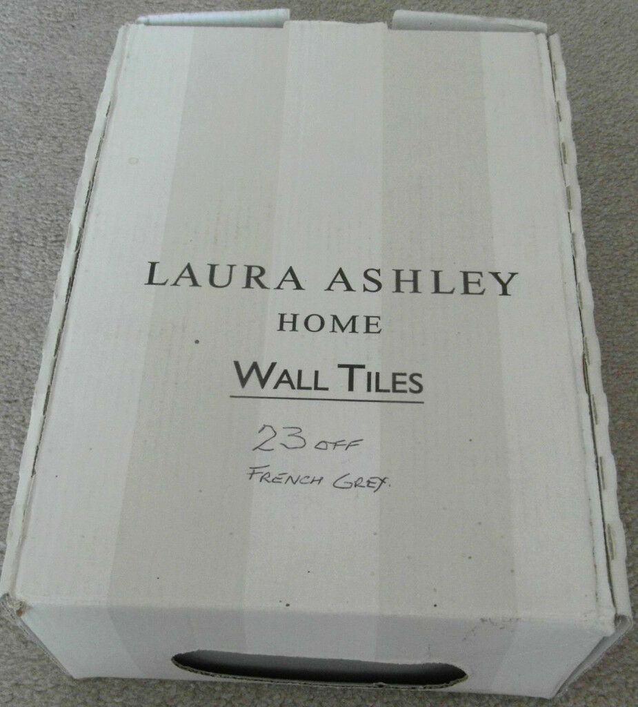 Laura Ashley Artisan Ceramic Tiles French Grey In Colyton Devon