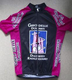 Cycling Jersey Giro Delle Dolomiti Medium Italian event jersey