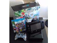 WII U + 2nd gamepad + Mario Kart 8 + Super Smash Bros. Excellent condition