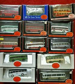 EFE die cast buses coaches boxed