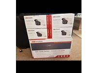 HIKVISION CCTV PACKAGE 1X DVR 4X CAMERAS BARGAIN PRICE