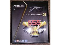 AsRock Z77 Extreme6 Motherboard Used