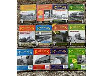 British railway illustrated magazines 1999 complete year