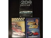 3 DVDS Supercars