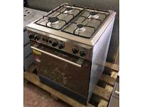 Universal 4 Burner LPG Cooker & Oven - EN0345
