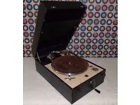 Vintage DECCA 50 wind-up Gramophone.