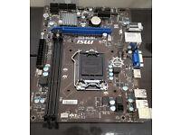 MSI H81M-E33 (LGA 1150 MATX)