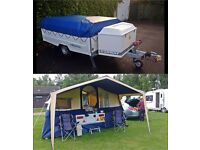 CONWAY CHALLENGER FOLDING CAMPER WITH REVIEW AND PHOTOS
