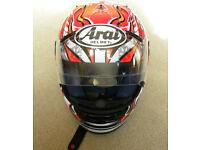 Arai Corsair RX-7 Crash Helmet - Size S - Mint Condition