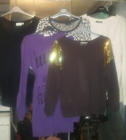 5 jumpers all size 14