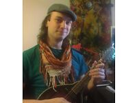 Mandolin, guitar and songwriting lessons