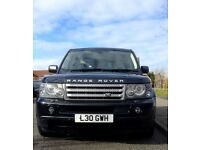 RANGE ROVER SPORT V8 4.2 SUPERCHARGED LPG/PETROL PRIVATE REG