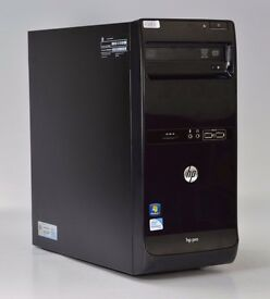WINDOWS 7 HP PRO 3500 DUAL CORE 2.80 TOWER PC COMPUTER - 4GB RAM - 500GB HDD