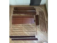 Set of window blinds