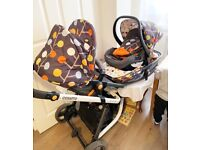 Cosatto Giggles Travel System 3 in 1 for sale  Shotts, North Lanarkshire