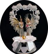 Fairy Wedding Cake Topper