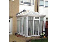 Edwardian conservatory 2.3 x 2.3 metres